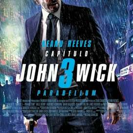 Dvd John Wick 3 original picture