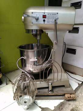 Mixer roti./cake/pastry .planetery 20 ltr ( 3 kg tepung) second mls