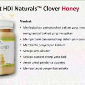 madu asli ori + bee pollen untuk stamina kesehatan pencernaan