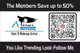 Hair dresser , mekup artist and beauticians