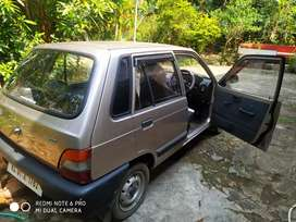 Maruthi 800 single ownr car for sale. No accidnt, wl mainatained