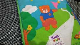Buku mainan dari kain, utk edukasi anak Balita.