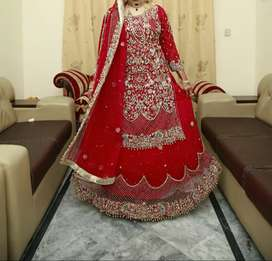 Beautiful Red Lehnga