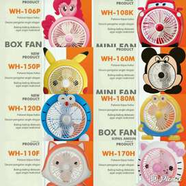 Kipas angin karakter(box fan)new
