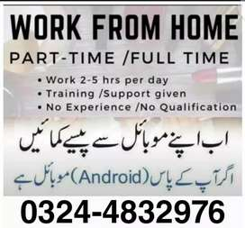 Male female and students can apply for this job