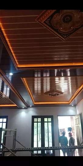 Menerima pemasang rangka atap baja ringan dan plpon pvc