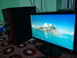 Dual Core System Samsung 20 inch Led 3GB RAM Very Fast Speed Gud cndsn