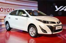Toyota yaris automatic on rent self drive rent a car