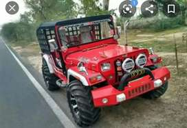 Modified  mahindhra jeep Kerala registration