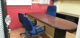 450sqft semi furnished office indira nagar on faizabad road