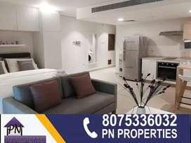 1 bhk fully furnished luxury flat for rent near metro hospital palazhi