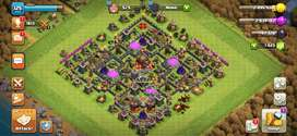 Jual 2 Akun COC TH 10 + Clan lv 9