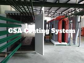 Oven Powder Coating (batch)