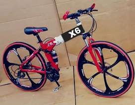 Foldable cycle with shimano 21 gears