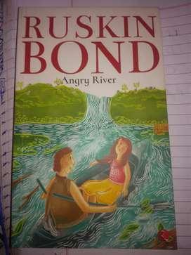 Ruskin bond.. Angry river