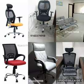 Premium quality ergonomic office chairs visitor chairs 3 seater sofas