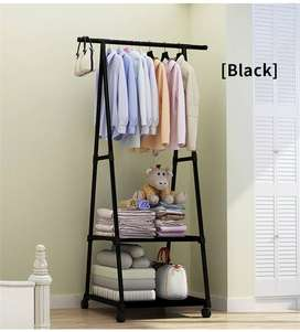 Multifunction Clothes Hanger Triangle Coat Rack Removable Bedroom