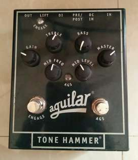 Aguilar Tone Hammer Bass Preamp Mulus Normal Fullset