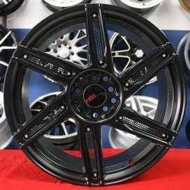 Velg racing hsr ring18X8 Cocok Buat innova Xpander Brv