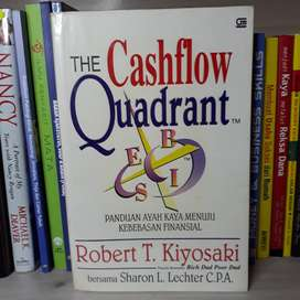 Buku The CASHFLOW QUADRANT Panduan Ayah Kaya Menuju Kebebasan Finansia
