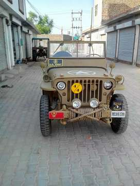 Open Jeep's modified willyz thar type