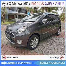 [DP17jt] Ayla X Manual 2017 KM rendah 1400 SUPER ANTIK