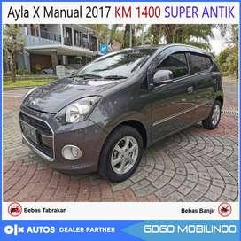 [DP17jt] Ayla X Manual 2017 KM rendah 1400 SUPER ANTIK