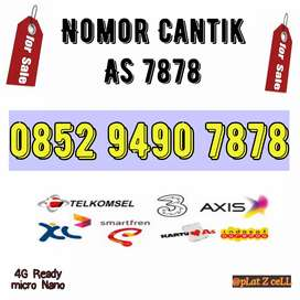 Nomor Cantik telkomsel 7878 AS
