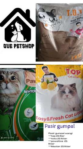 Pasir kucing wangi