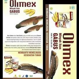 Olimex kapsul minyak ikan gabus