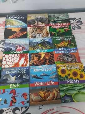 Grolier wonderful world of knowledge(set of 10)knowledge encyclopaedia