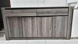 Sideboard Bufet 160cm Premium Terbatas- COD- Gratis Ongkir Makassar