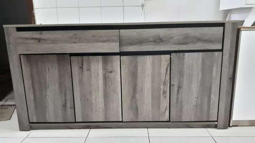 Sideboard Bufet 160cm Premium Terbatas- COD- Gratis Ongkir Makassar 0