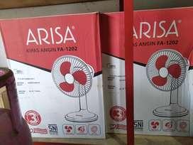 kipas angin meja/ desk fan arisa/ arissa 12inc FA-1202 (jantung acc)