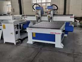 High and Good Imported cnc machine 1325 Wood Router Double head