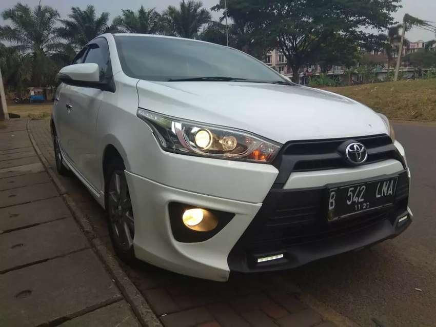 Toyota yaris trs at 2015 putih 0