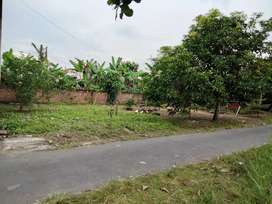 Tanah dekat jalan besar Jombor Sukoharjo kota, buat rumah huni ok