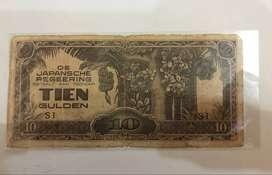 Jual Uang Kuno 10 Tien gulden