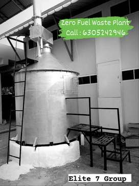 Zero Fuel Waste plant for homes, hotels, Schools, Business Units etc