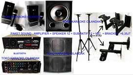 new paket sound system + sub harga 6,35 juta sett