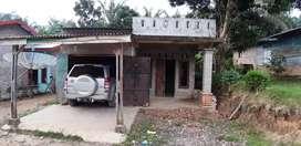 Rumah Permanen Jalan Depan Rumah Aspal