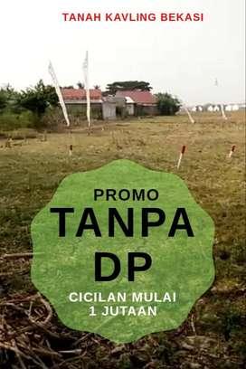 Tanah MURAH Tanpa DP Cicilan 1 Jutaan SuratSHM  Syarat Mudah di Bekasi