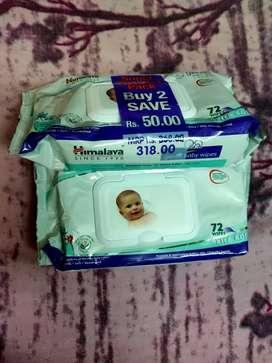 Himalaya baby wipes