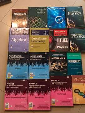 """My 12th IIT-JEE Books """"Take any book at 35%"""""""