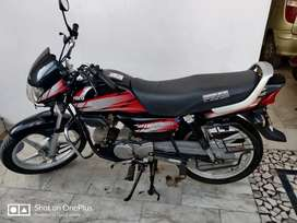Cd deluxe bike good condition and single hand