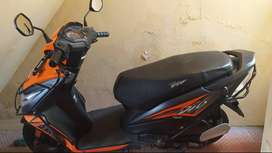 New dio bike very less kms driving. Showroom condition. 5 years insura