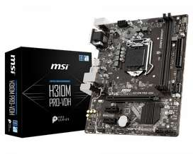 Latest Motherboard Unopened Box with Bill - MSI H310M PRO-VDH