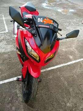 jual kawasaki ninja 250 merah