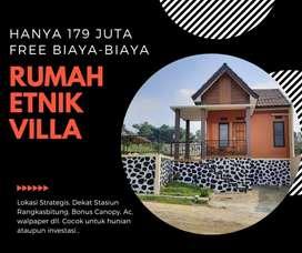 Dijual Murah Rumah Syariah Tanpa RIBA pertama di kota Rangkasbitung
