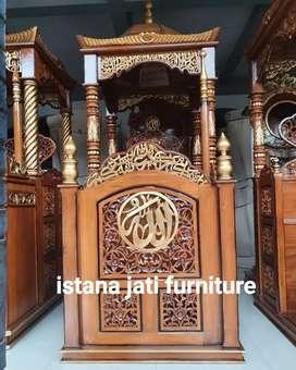 Ready stock mimbar masjid model minimalis